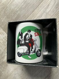 Lambretta Scooter Mug