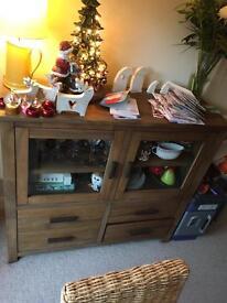 Next solid wood sideboard £220