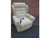 Windsor riser recliner chair with massage and storage compartment – Dual motor