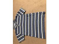 Lacoste striped boys polo shirt age 14 years