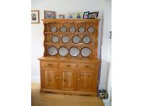 Hand made by a cabinet maker, Pine Welsh Dresser