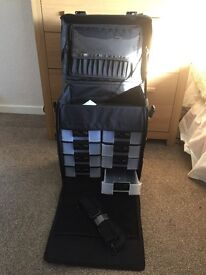 Professional mobile trolley for nails , makeup or jewellery