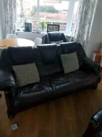 3 seater and 2 single seater sofa