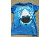 NEXT Shark T-Shirt boys age 7