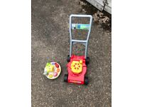 Kids lawn mover
