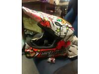 Suomy motocross helmet