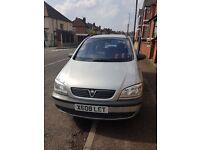 Vauxhall zafira for sale!