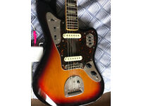 Made in Japan (MIJ) Fender Jaguar limited edition (66 reissue) with bound fretboard and block inlays