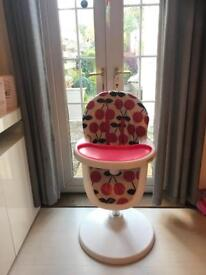 Cosatto 3 sixti red cherry highchair