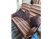 SOLD Dining set & conservatory furniture
