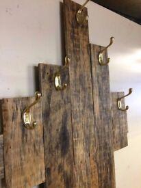 Handmade Rustic Shelves, Coat Racks, Headboards- Made to order