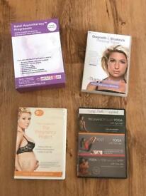 Pregnancy and post natal CD and DVD Bundlr