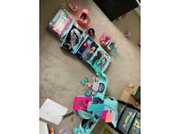 LOL dolls and Glamper Van