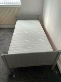 Kids Single bed and mattress (never used)