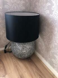 very large beautiful lamp