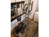 2 in 1 Magnetic Cross Trainer & Bike