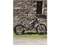 Gas Gas TXT Pro 300 Trials road reg 2013 plate with V5