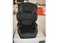 Toddler Car seat Halfords excellent condition
