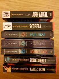 Set of Anthony Horowitz books