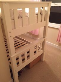 Top of the range bunk beds with mattresses