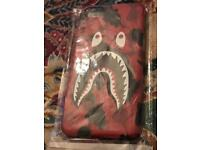 Iphone 7 and IPhone 8 Bape phone case brand new