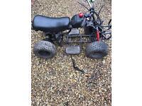 110cc quad rolling chassis