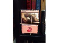700: MAGIC THE GATHERING LAND CARDS - £5