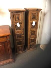 Pair of rustic chests * free furniture delivery*