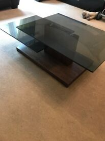Two tiered coffee table