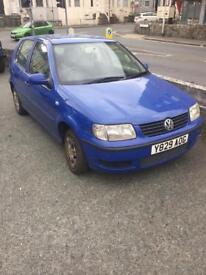 VW Polo 2001 spares or repairs