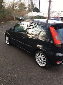 Ford Fiesta Zetec S 1.6 05 Black 3dr Manual