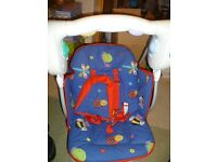 Fantastic Baby Bruin Reclining Baby Swing with Music Nature Sounds or Swing Only.
