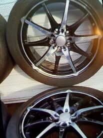 Wheels and tyres 18""