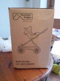 Mountain Buggy Duet Double Car Adaptor