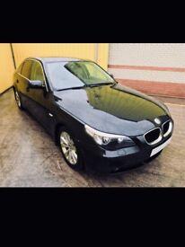 BMW 520D automatic black