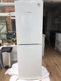 Free standing Bosch fridge freezer
