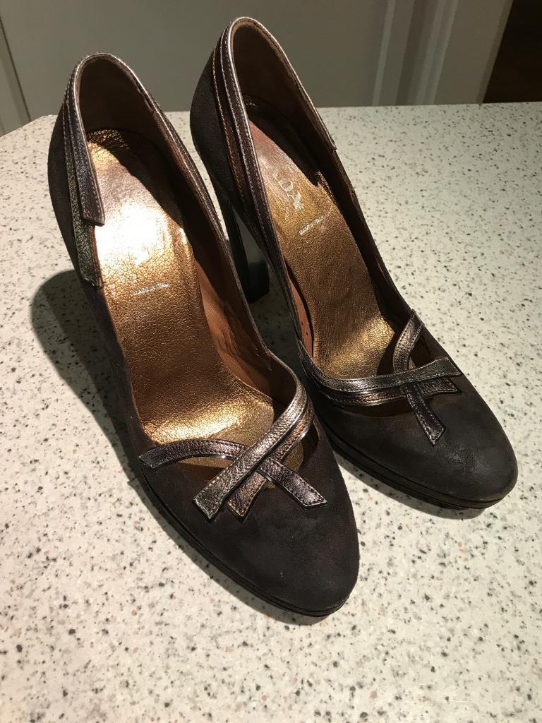 Prada killer heels! Size 38.5 (6)