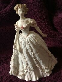 Sweetest Valentine by Royal Worcester limited edition fine bone china figurine