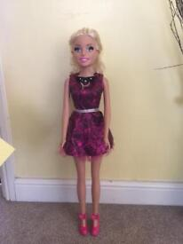 Large barbie doll