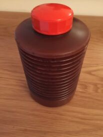 Collapsible Bottle Photographic Film Developing Chemicals Storage