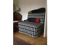 Single sofa bed chair (ikea) barely used