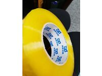 225 metre Sellotape, Office Supplies, Heavy Duty Tape, Large Tape Roll, Pack of 5 Sellotape