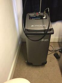 Cynosure Laser Hair Machine & Cooler