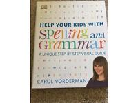 Spelling and grammar help for kids