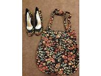 Ladies shoes and bag
