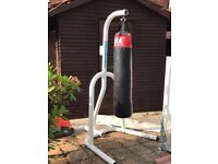 Punch bag and Free Standing Frame