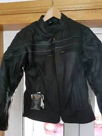 New Ladies leather jacket and trousers