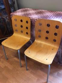 Ikea 'jules' chairs
