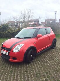 Suzuki Swift Sport. 1.4. Petrol. MOT until July. Super little runner. Good condition throughout.