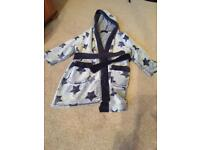 Boys dressing gown age 2-3